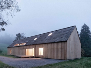 Austrian Contemporary Barn via Share Design