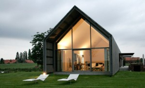the barn house, belgium, by buro 2