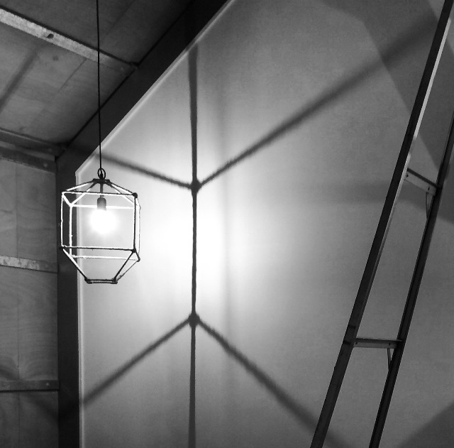 Bedroom 2 lights cast a beautiful shadow