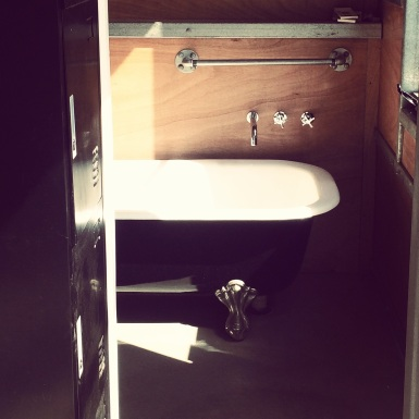 Ensuite at The Shed